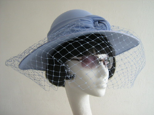 Cappelli Condici Ascot hat Lilac Hyacinth