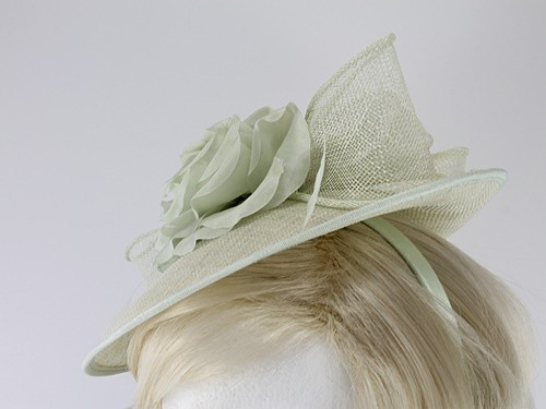Failsworth Millinery Silk Rose Disc Headpiece