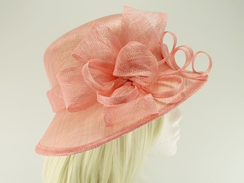 Hawkins Collection Asymmetrical Wedding Hat