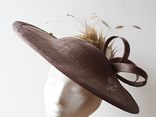 Couture by Beth Hirst Coffee Saucer with Almond detail