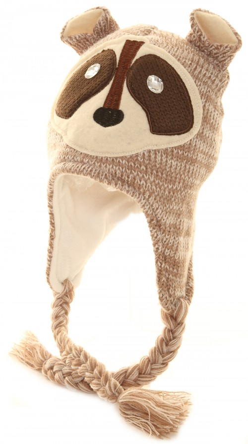 Jiglz Peruvian Animal Winter Hat