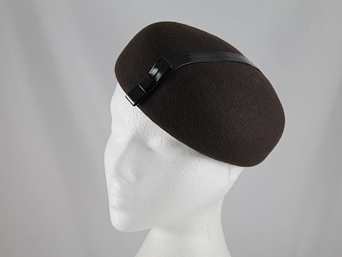Betmar New York Brown Button Headpiece