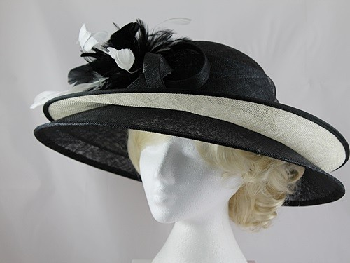 331039f7c8623 Price: £60.00 plus delivery. Product has been sold. 1 / 7. Failsworth  Millinery Double Brim Events Hat