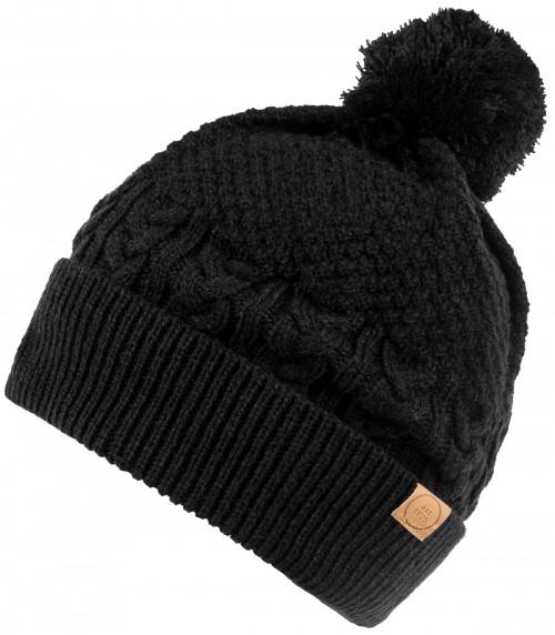 Boardman Finley Cable Knit Beanie Bobble Hat