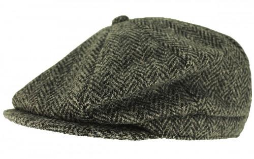 Boardman Harris Tweed Bakerboy Cap