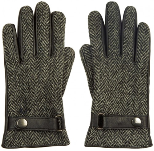 Boardman Harris Tweed Wool Gloves