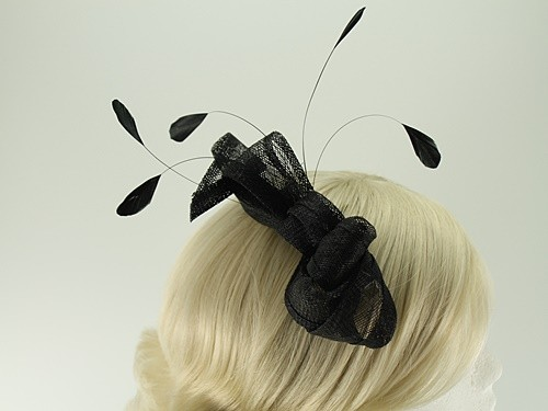 Elegance Collection Loops Clip Fascinator