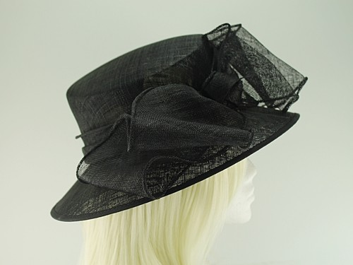 Failsworth Millinery Bow Events Hat with Matching Sinamay Occasion Bag
