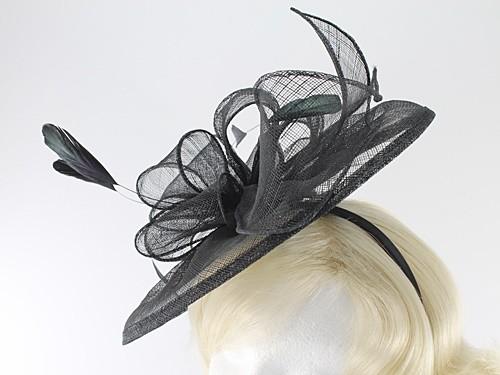 Failsworth Millinery Sinamay Headpiece