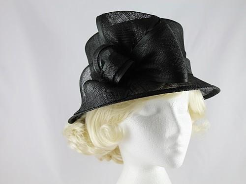 8e2cf01638bee Maddox Wedding Hat in Black