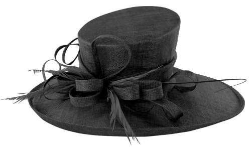 Max and Ellie Events Hat in Black