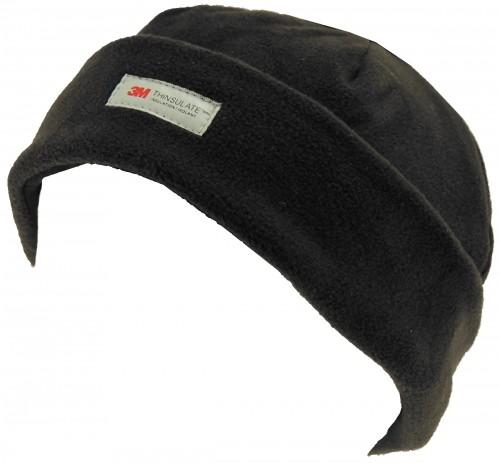 SSP Hats Thinsulate Fleece Ladies Beanie Hat in Black