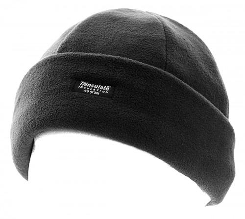e40f84df6c39f Fascinators 4 Weddings - Thinsulate Fleece Beanie Hat in Black (A220)