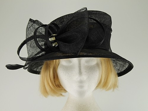 Black Wedding Hat