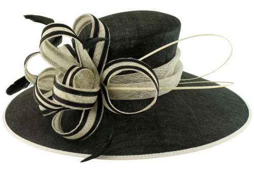 Failsworth Millinery Two Tone Events Hat