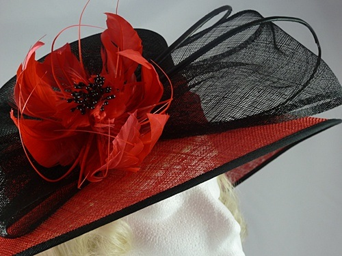 62a15171e166f Wedding Hats 4U - Failsworth Millinery Wedding   Events Hat in Black ...