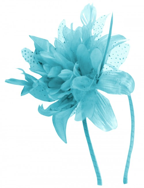 Aurora Collection Flower Aliceband Fascinator