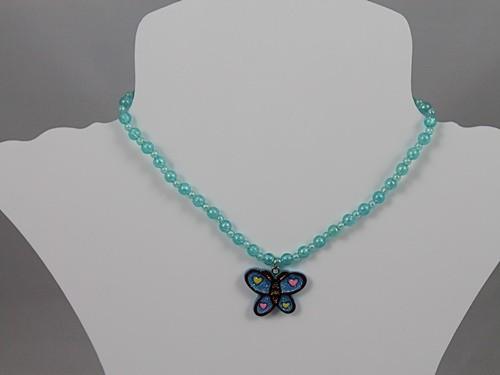 Butterfly Necklace and Bracelet Set