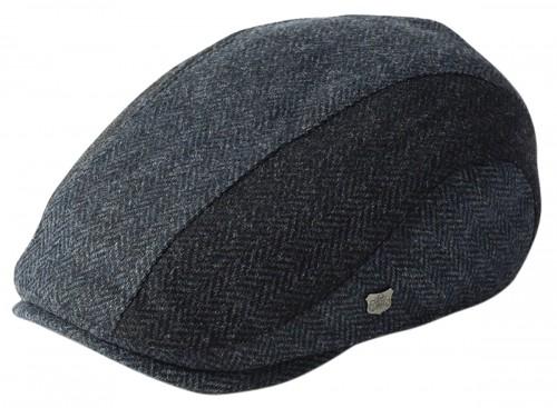 Failsworth Millinery Dalston Wool Flat Cap