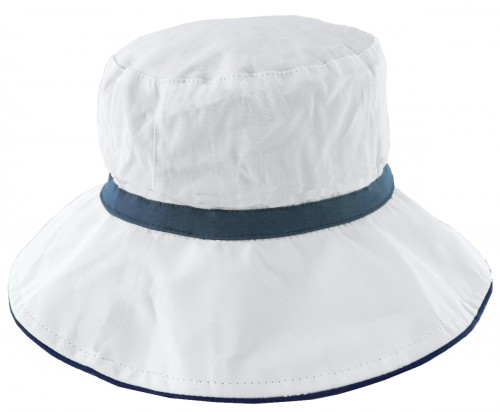 Hawkins Collection Cotton Reversible Sun Hat