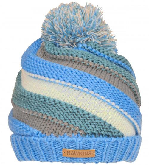 SSP Hats Girls Chunky Twist Knit Beanie Bobble Hat