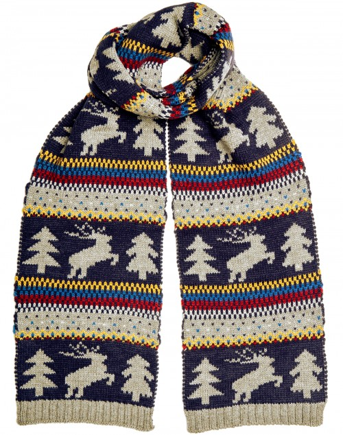 Boardman Xmas Themed Colourful Mens Scarf