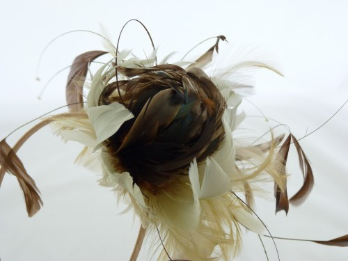 Designer Millinery by Rachel Wykes Wedding fascinator