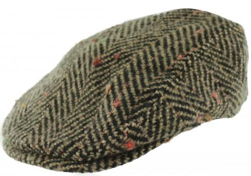 Hawkins Chunky Wool Flat Cap