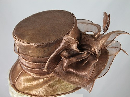Shimmer Organza Occasion Hat