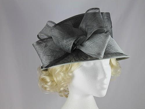fe8357c1 Wedding Hats 4U - Failsworth Millinery Wedding Hat in Charcoal ...