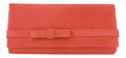 Max and Ellie Occasion Bag in Coral