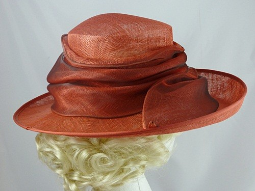 Country Casuals Red Wedding Hat
