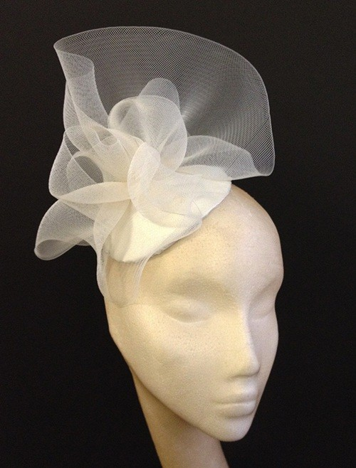 Couture by Beth Hirst Ivory Crin Ruffle