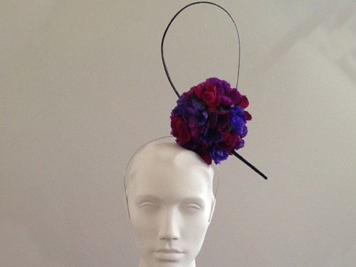 Couture by Beth Hirst Brooke � Flowerball Headband