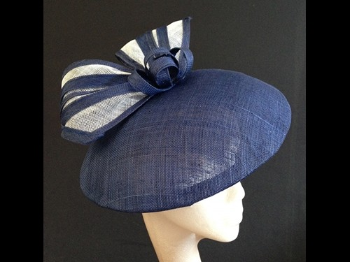 Couture by Beth Hirst Navy and White Dior esque Saucer