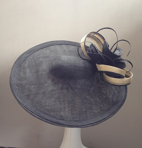 Couture by Beth Hirst Black and Cream Large Saucer