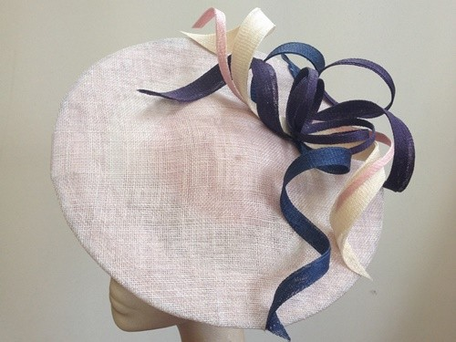 Couture by Beth Hirst Pink Multi Twist Saucer