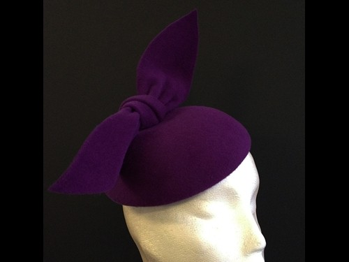 Couture by Beth Hirst Violet Bow Button