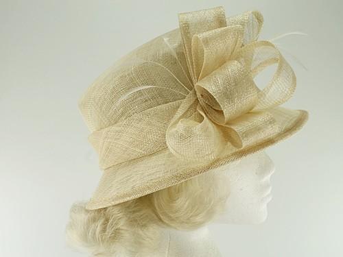 Hawkins Collection Down Brim Wedding Hat