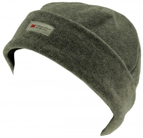 SSP Hats Thinsulate Fleece Ladies Beanie Hat in Dark Grey