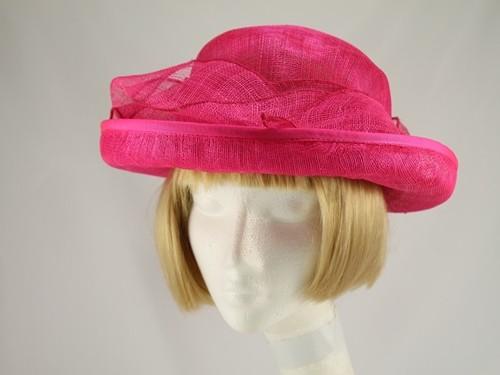 Debenhams Hat Box Pink Wedding Hat