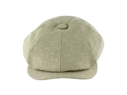 29c1431d Wedding Hats 4U - Failsworth Millinery Irish Linen Alfie Cap in Dove ...