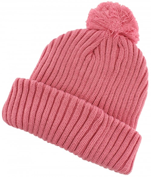 SSP Hats Chunky Knit Beanie Bobble Hat