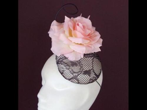 Edel Staunton Millinery Pink Rose