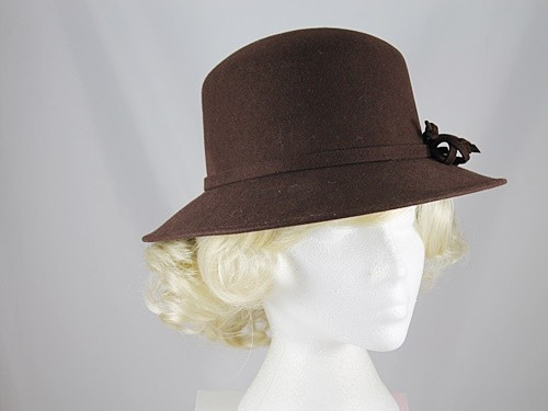 Failsworth Millinery Brown Winter Hat