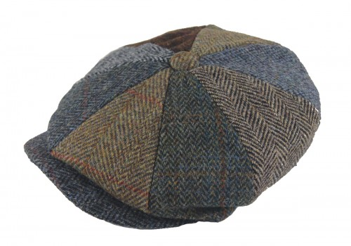 Failsworth Millinery Lewis Multi Tweed Cap