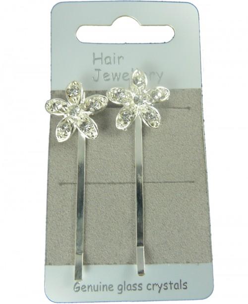 Flower Hair Slides