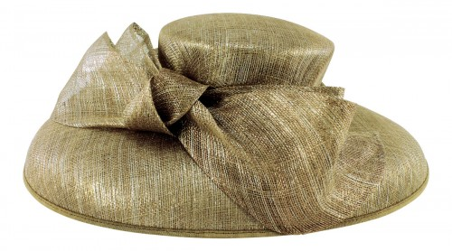 ec96dd6a1a7dd Wedding Hats 4U - Failsworth Millinery Down Brim Events Hat in Gold ...