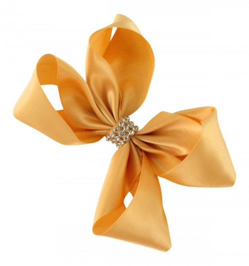 Molly and Rose Small Diamante Hair Bow