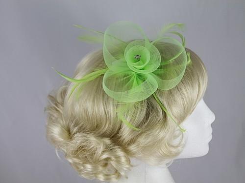 Swirl & Biots Fascinator on comb